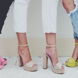 Chinese Laundry Suede Heels